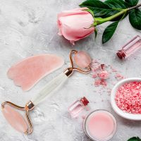I Tried Using a Rose Quartz Face Roller for Vibrant Skin—And Here's What Happened