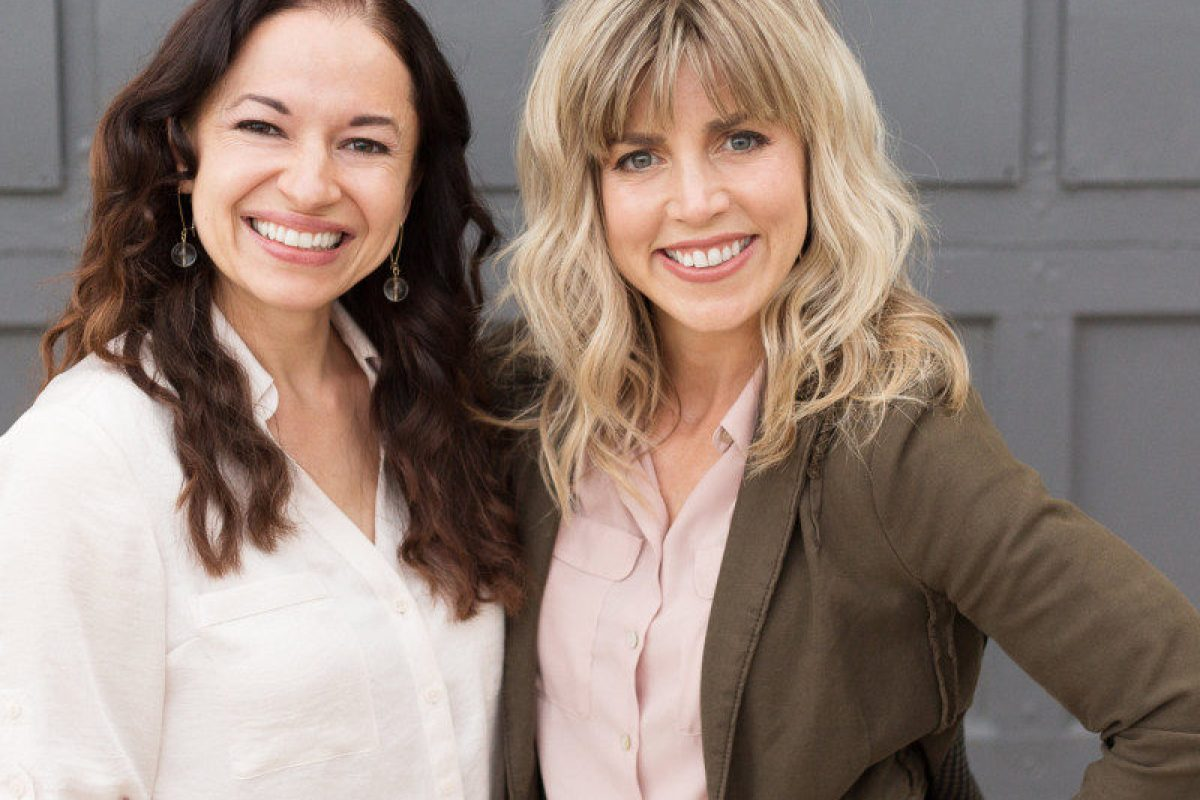 Cherie Hoeger & Amber Fawson, co-founders of Saalt Co.