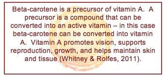 winter squash and beta-carotene