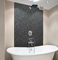 Black Pebble Floor Tile | Zef Jam