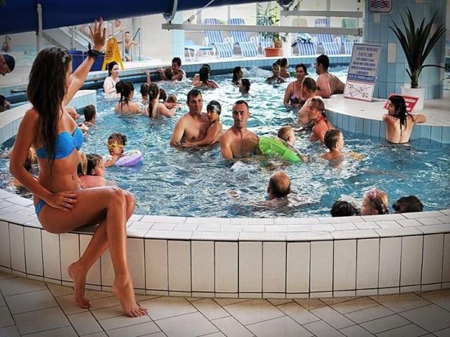 Aquarius banja i kupalište, Njiređhaza Mađarska