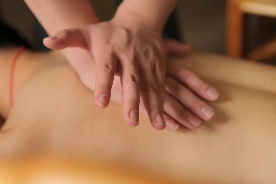 Thailändische Rücken Nacken