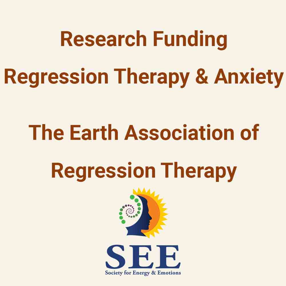 Funding for Regression Therapy & Anxiety