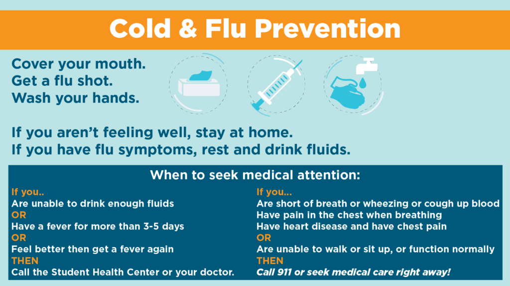 Cold & Flu Prevention | Center for Health Education & Wellness