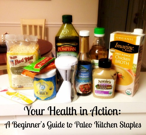 A Beginner's Guide to Paleo Kitchen Staples