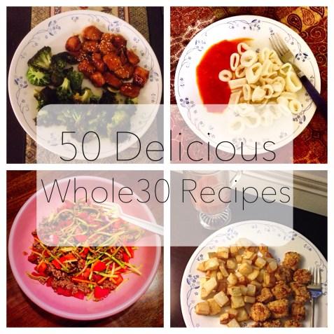 50 Delicious Whole30 Recipes