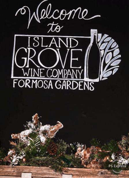 Your Guide to Island Grove Wine Company at Formosa Gardens | WellnessAndWanderlust.net