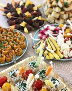 buffet coloré