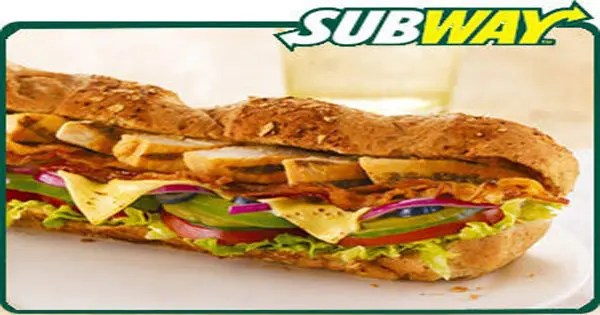 blog picture of subway sandwich