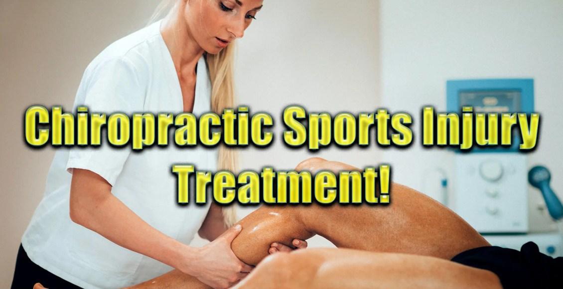 El Paso, TX. Sports injury chiropractic treatment