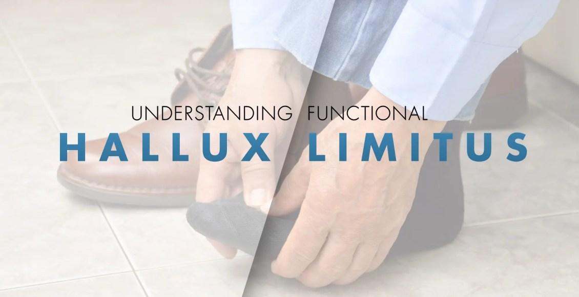 Understanding Functional Hallux Limitus | El Paso, TX Chiropractor