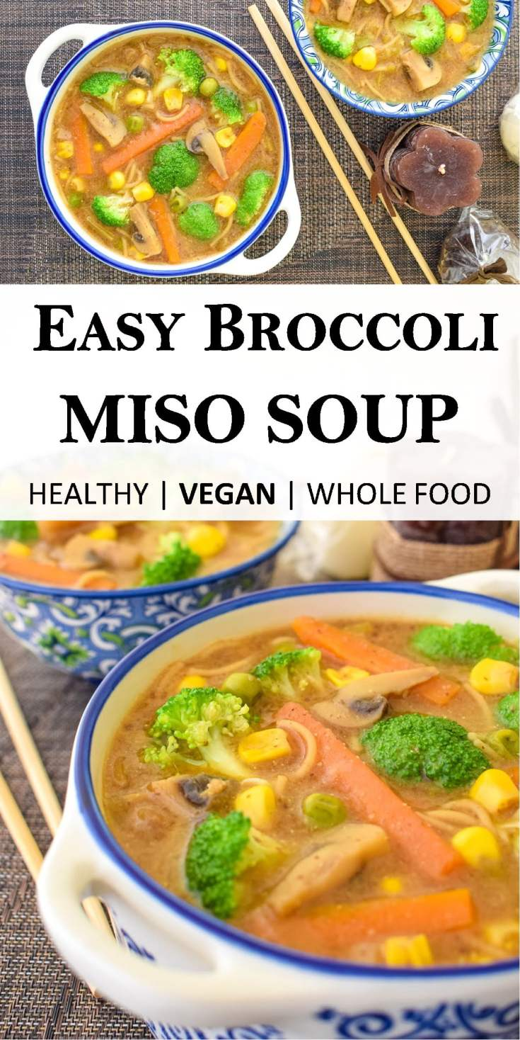 One super easy and tasty soup with a great variety of healthy vegetables in it! Truly healthy meal requiring minimal fussing around in the kitchen. Without any added oils with only whole plant ingredients.