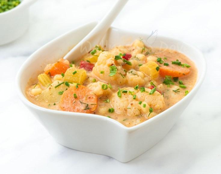 Cauliflower Couscous Stew
