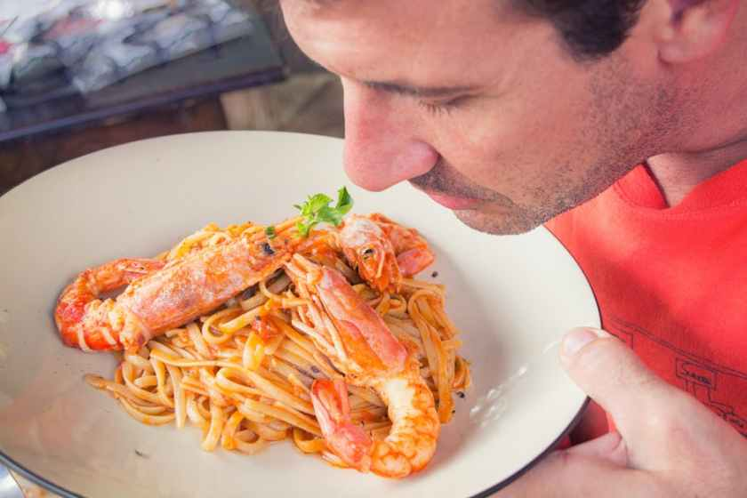 smell of food can affect how you taste the food