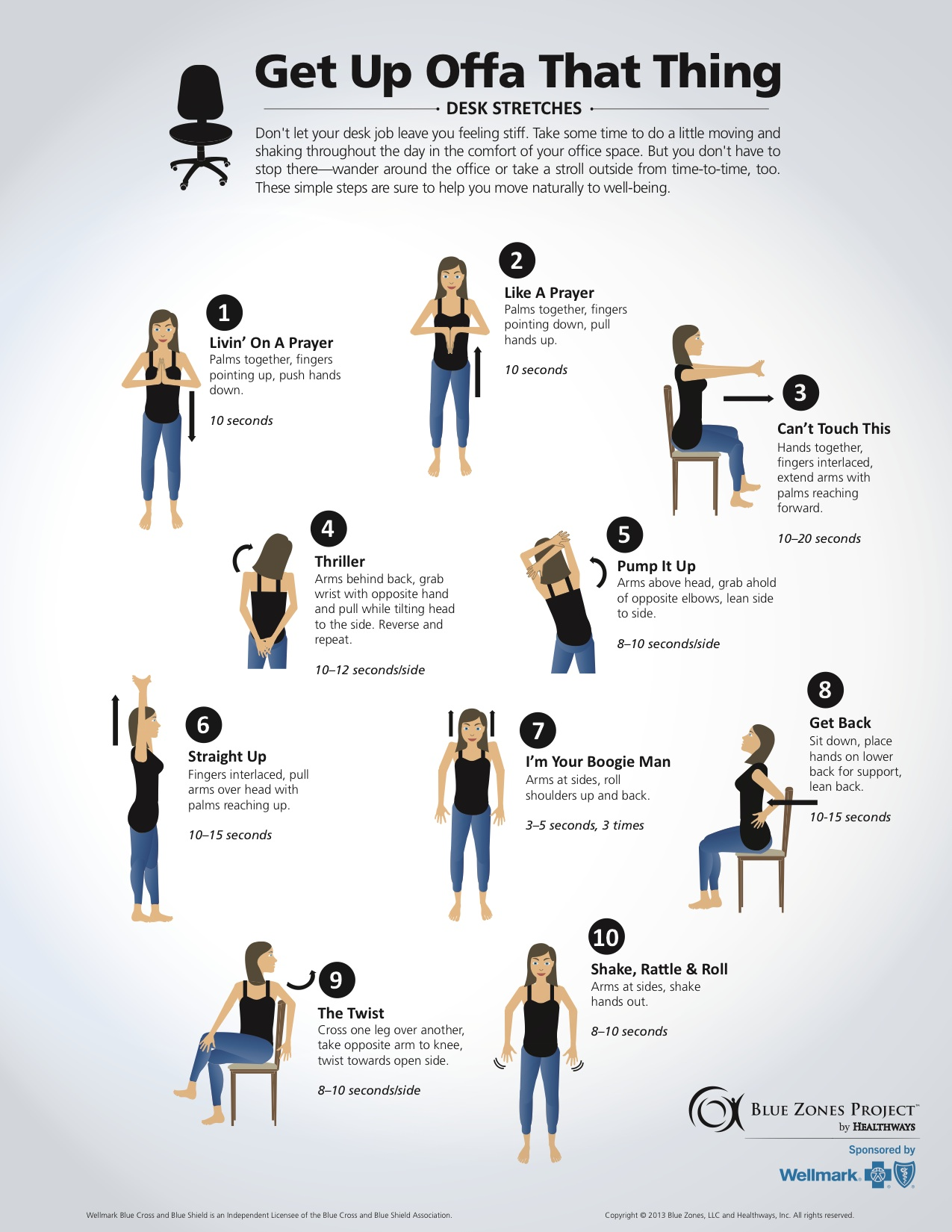 chair exercises at work cute living room chairs wellness for life chiropractic desk stretches 2015