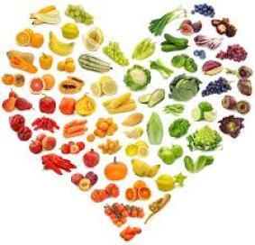 foodrainbow heart