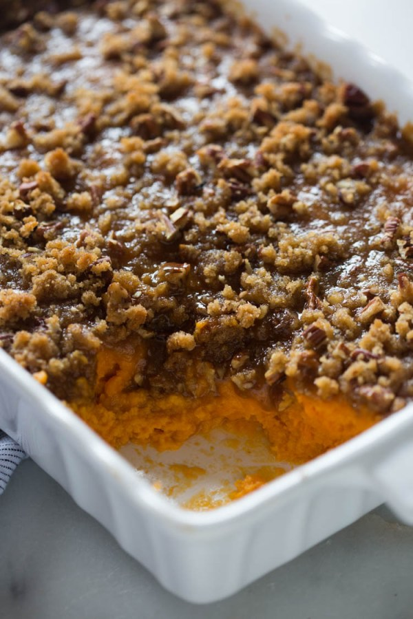 sweet potato casserole easy Thanksgiving side dishes