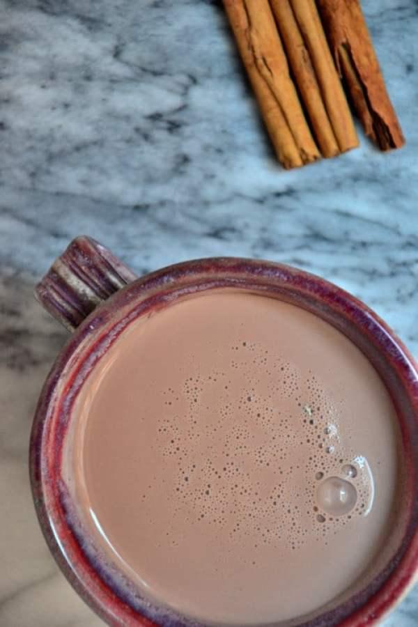 vegan hot chocolate recipe almond milk