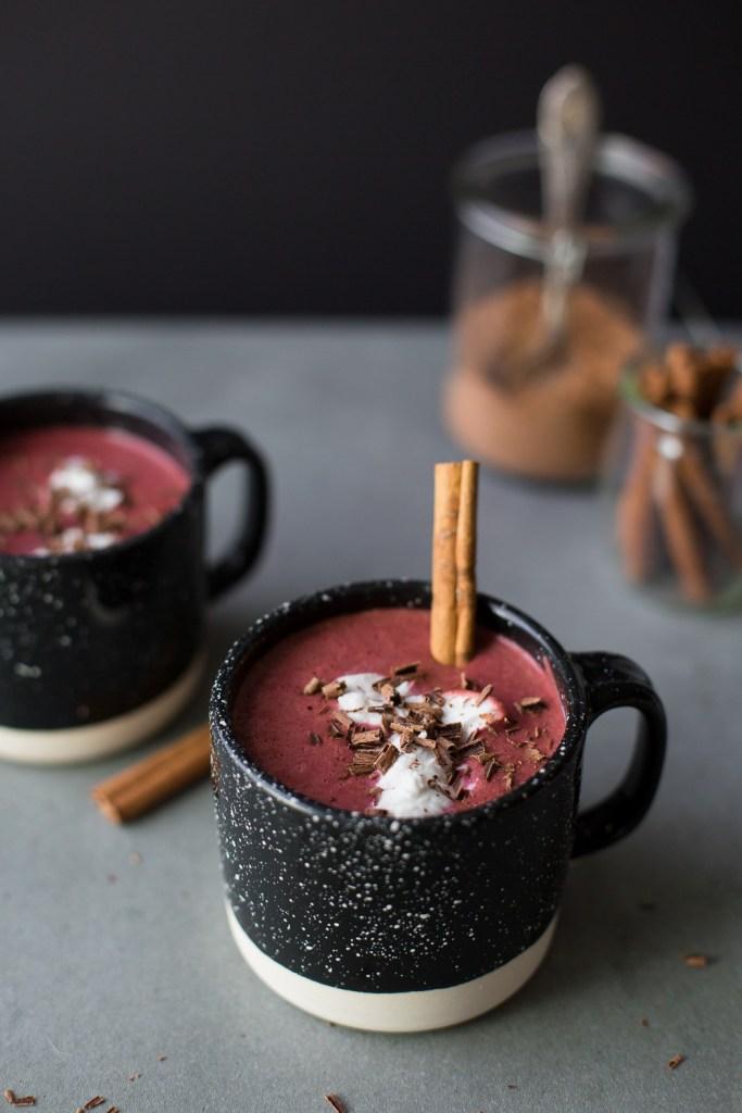 vegan hot chocolate recipe red velvet