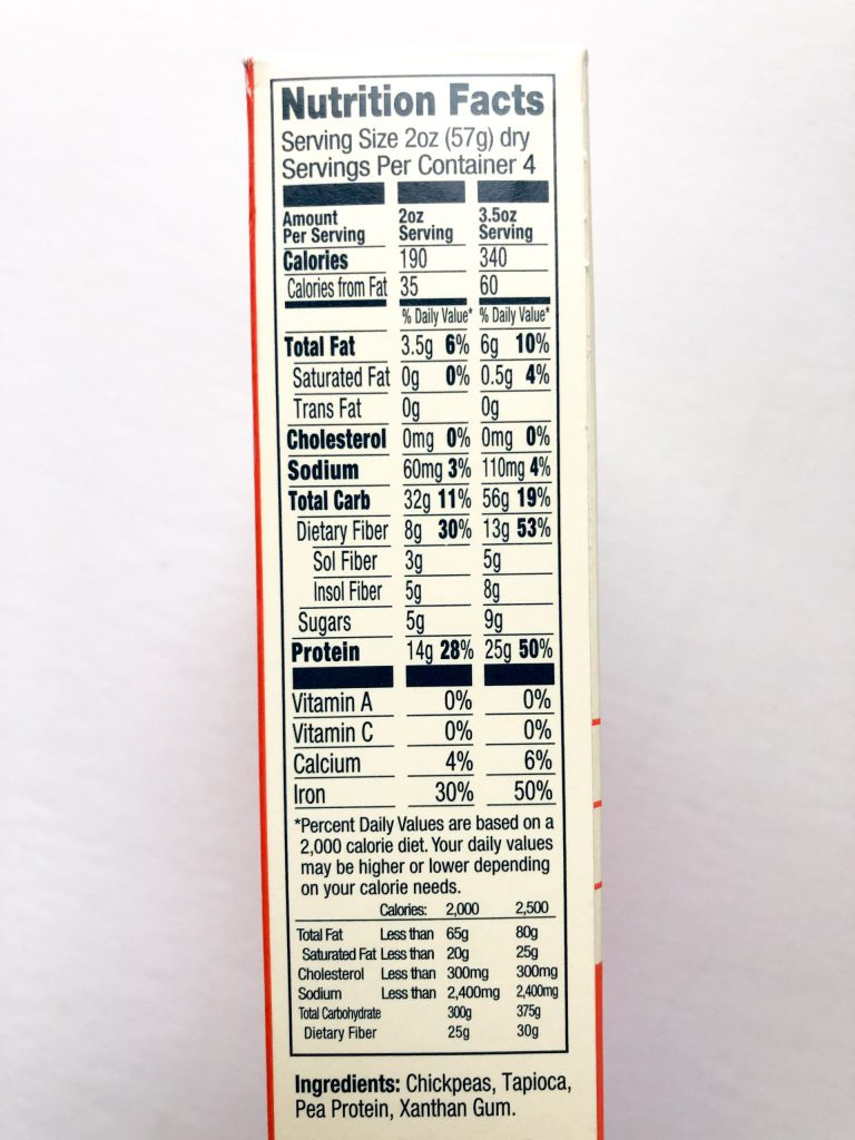 Banza Pasta Nutrition Facts : banza, pasta, nutrition, facts, Product, Review:, Banza, Chickpea, Pasta, Wellness, Womanhood