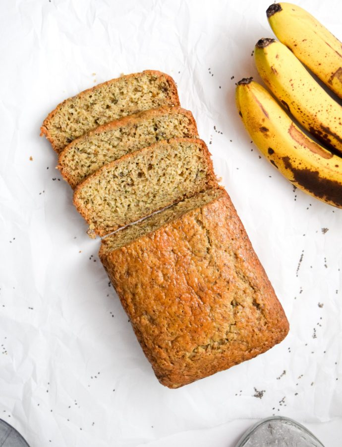 Healthy Chia Banana Bread