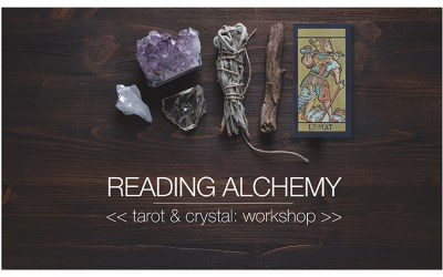 Tue 21st May, 2019 |Tarot & Crystal webinar workshop