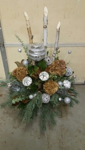 Ultimate blingy winter container