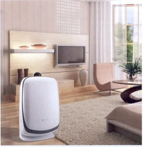 Air purifier against fine dust 13