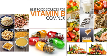 Foods rich in B Vitamins