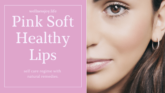 Pink Soft Healthy Lips