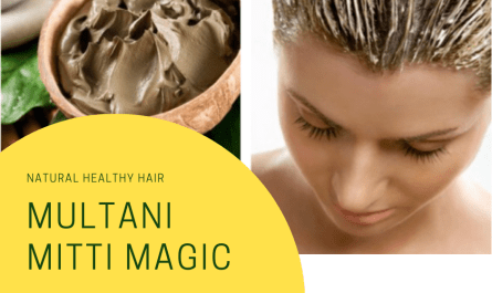 Multani Mitti Hair Care