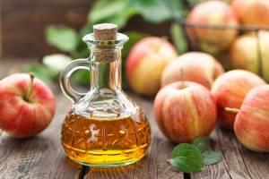 Apple cider vinegar has probiotic qualities.