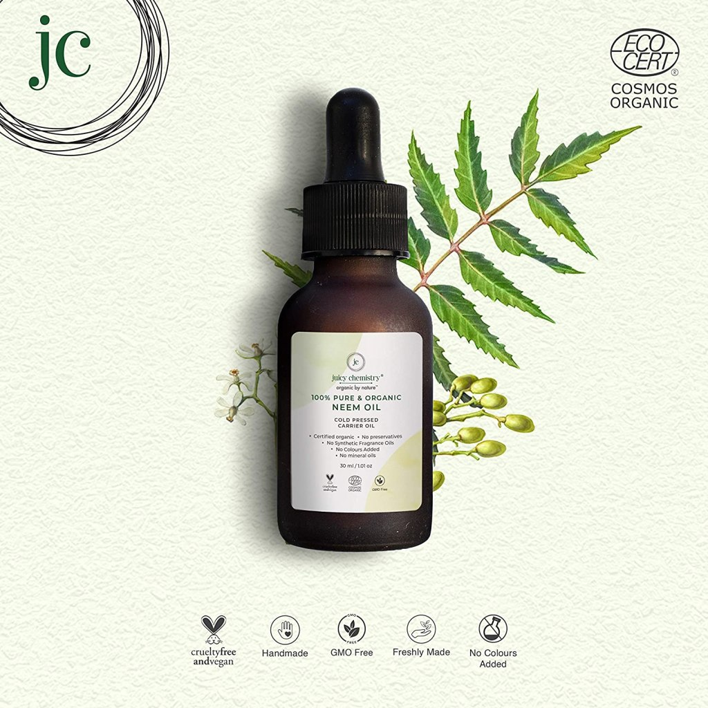Juicy Chemistry 100% Organic Neem Oil