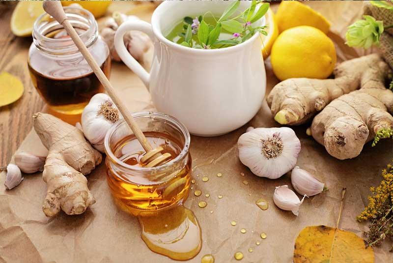 Natural antibiotics can be found in herbs, spices, and some foods.