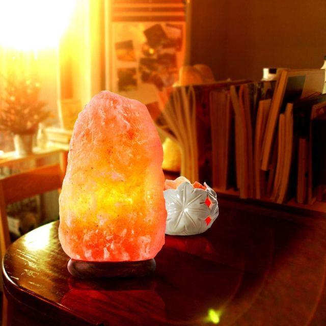 Natural Air Purifier Ionizer Himalayan Salt Lamp