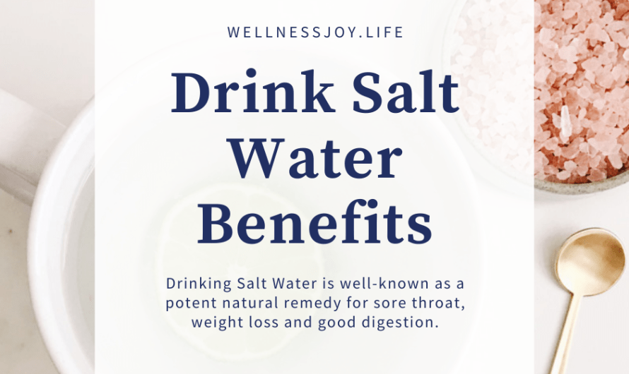 Start Drinking Salt Water Every Morning | Weight Loss