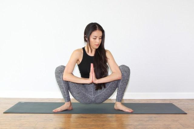 Yoga Health Benefits with Malasana Pose