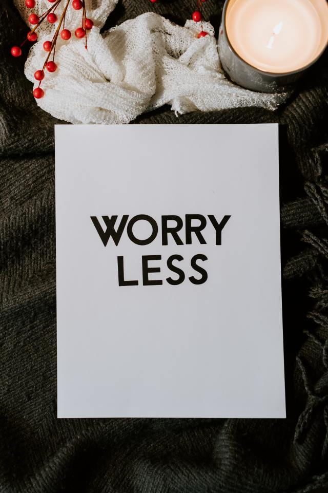 Be Mindful Worry Lesss