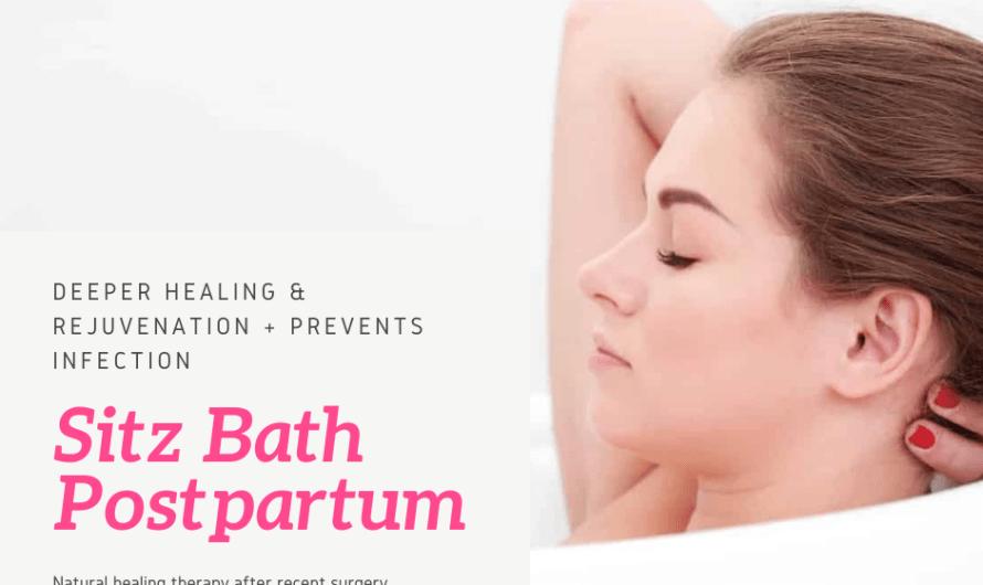 Sitz Bath Postpartum: Ultimate Healing Naturally