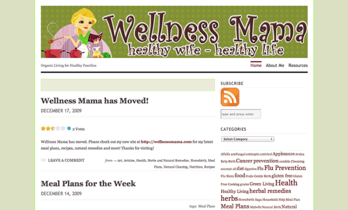 3 Wellness Mama WP.com custom