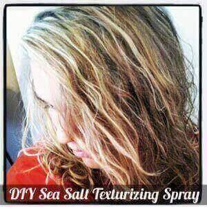 DIY Sea Salt Texturizing Spray Recipe DIY Beach Waves Spray
