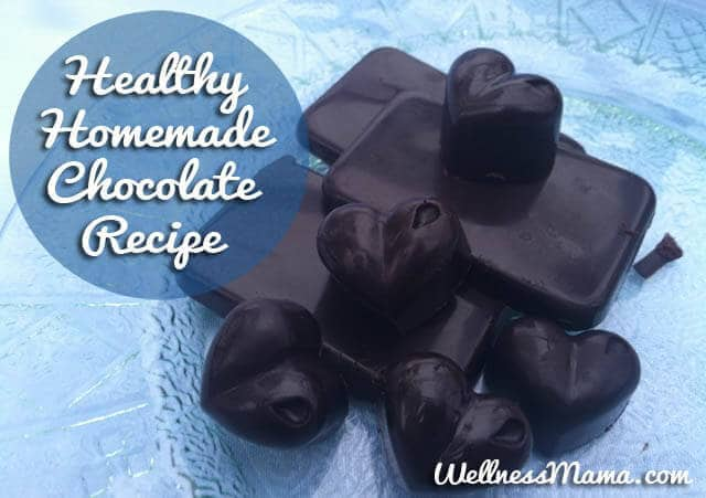 Homemade Chocolate Recipe Healthy easy and delicious Healthy Homemade Chocolate