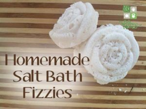 Homemade Salt Bath Bombs Recipe