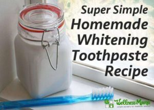 Homemade Whitening Toothpast Recipe