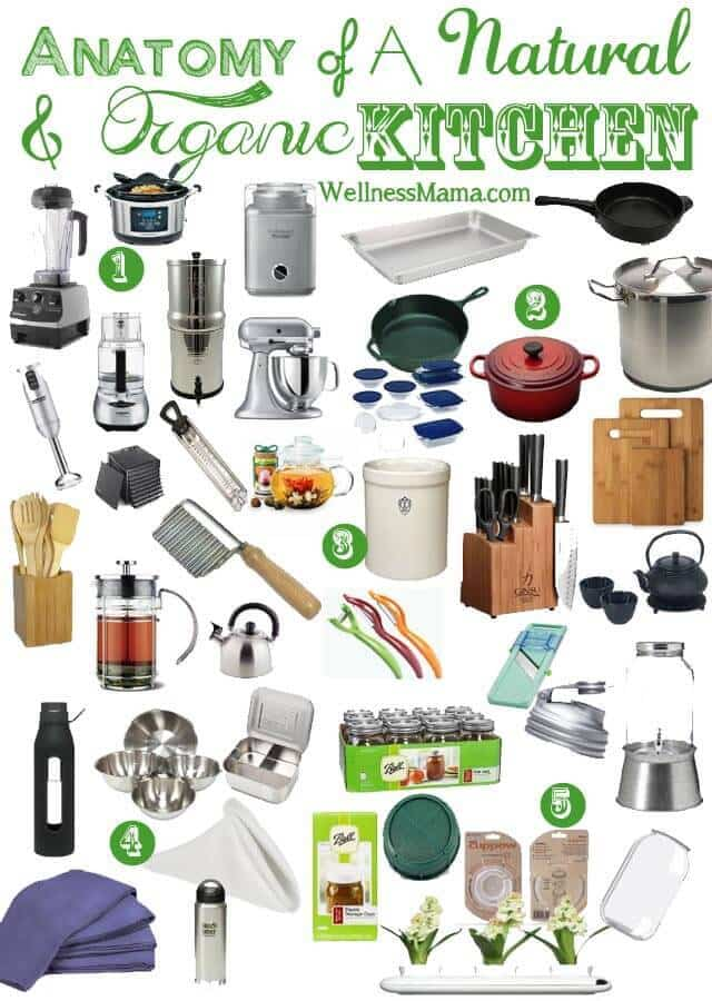 Essential Items For A Natural, Organic Kitchen