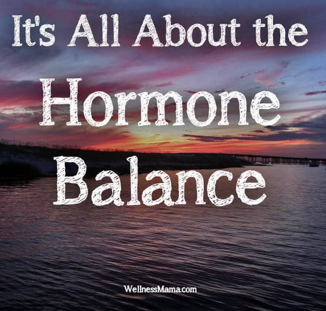 Its All About the Hormone Balance Its All About the Hormone Balance