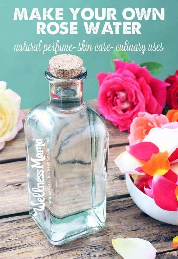 Prepara la tua acqua di rose naturale per la cura della pelle - profumi - usi culinari