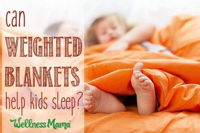 can weighted blankets help kids sleep