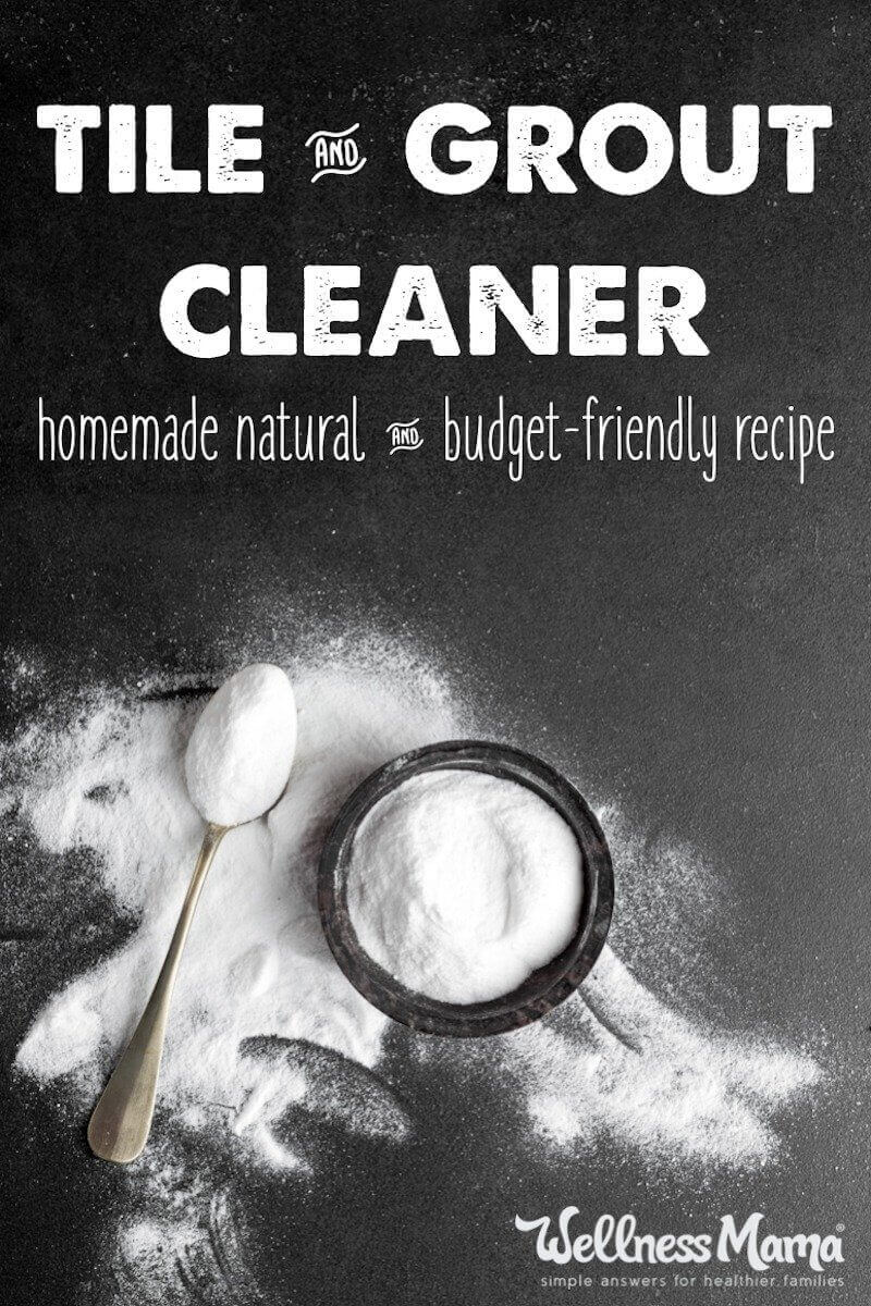 Can You Use White Vinegar On Granite Countertops Natural Tile And Grout Cleaner Recipe | Wellness Mama