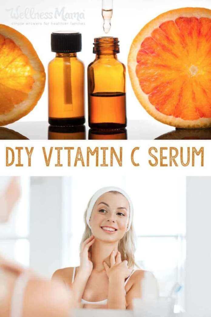 Diy Homemade Vitamin C Serum Recipe Wellness Mama